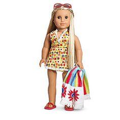 American Girl® Clothing: Julie's Swim Set