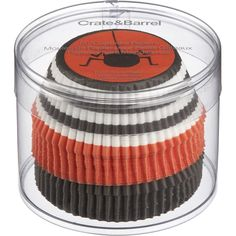 #frightfulfaves Crate & Barrel Halloween Cupcake Papers Set. $4.95. @Margaret Bham and Barrel