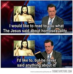 Jesus on Gay Marriage