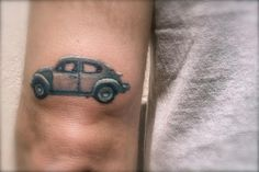 1975 VW (Volkswagen) Beetle Tattoo