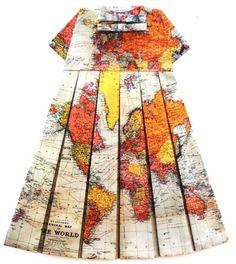 Elisabeth Lecourt Maps Couture