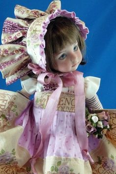 """For Effner Little Darling Kish 14 INch """"French Country"""" Gorgeous!!! CM"""