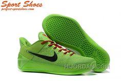 f9b2b4c278e8 Nike Kobe A.D. Sneakers For Men Low Green Black Top Deals NkY3AkS