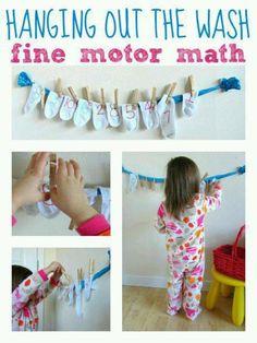 Fine motor skill maths