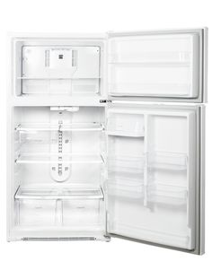 Kenmore 61212 20.8 cu.ft Apartment Size Refrigerator, White Refrigerator, Kenmore Refrigerator, Top Freezer Refrigerator, Kenmore Elite, Glass Shelves, Lowes, Bathroom Medicine Cabinet, Products