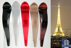 www.pinklilyretail.com Lovely Hair Slide Clip, available in 17 colors. Made in France
