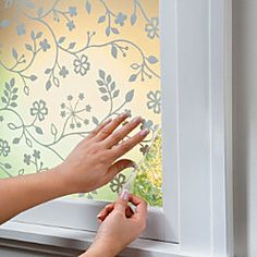 Decorative Window Film- Have some that I love. This is a good price
