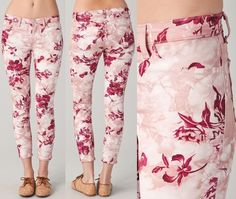 I would forgo a trip to Jamaica in exchange for these beautiful J Brand Large Floral Jeans in Twisted Pink Sea Shell. Covetous? Check! Lust worthy? Check! How bad do we need them in our lives? Pretty necessary for...