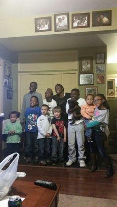 Thanksgiving kids #allmybabibies