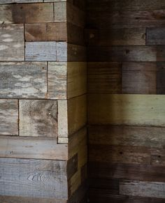 Woodworker Keith Aderholdt, who also helped design nearby Mollusk Surf Shop and Trouble Coffee Company, came up with the concept for the patchwork wood paneling.