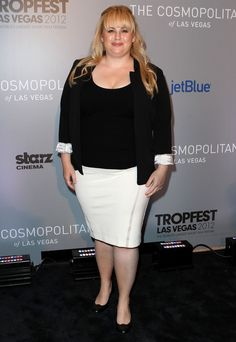 Love pretty much everything about Rebel Wilson, especially jealous of her hair style-wise. Bring back Super Fun Night!