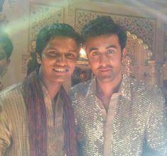 Ranbir Kapoor On The Sets YJHD Song Shoot