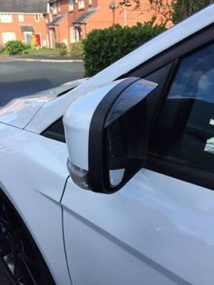 Ford Focus Wing Mirror Rain Deflector Visor Smoked Rs,st, in Vehicle Parts & Accessories, Car Tuning & Styling, Body & Exterior Styling Focus Rs, Ford Focus, Car Tuning, Car Mirror, Jaguar, Mustang, Wings, Rain, Exterior