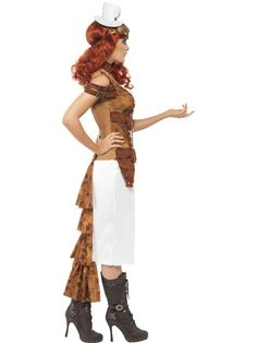 Costumes Steampunk Costumes Adult Steam Punk Wild West Costume