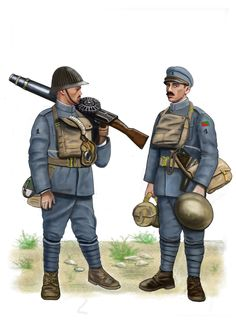 WW1 - Flanders, 1918 - Portuguese Lewis gun crew by AndreaSilva60 on DeviantArt