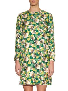 Ninfea long-sleeved silk mini dress   La DoubleJ Editions   MATCHESFASHION.COM UK