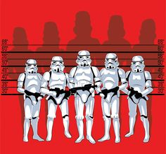 Star Wars meets The Usual Suspects. Photoshop.