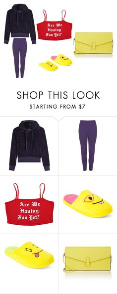"""""""split complementary scheme"""" by shreyaagarwal1996 on Polyvore featuring Vetements, WearAll, Chatties and Valextra"""