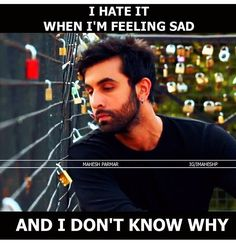 Maham-N This happens for me for most of the time. I become sad nd I don't know the reason. Sad Love Quotes, Girly Quotes, True Quotes, Bollywood Quotes, People Quotes, True Words, Spiritual Quotes, Movie Quotes, Deep Thoughts