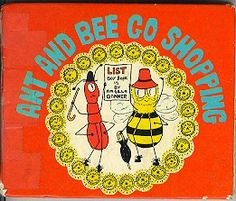 Ant And Bee Go Shopping by Angela Banner: Very Good Hardcover Love To Shop, My Love, Bee Book, Vintage Children's Books, Children's Book Illustration, Childrens Books, Kid Books, Go Shopping, Ants