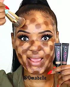 Make para pele negra com manchas - eye-makeup Makeup For Black Skin, Black Girl Makeup, Girls Makeup, Contour Makeup, Eyebrow Makeup, Makeup Art, Hair Makeup, Makeup Eyes, Makeup Hacks
