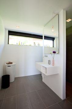 reminder: Use a large, whole wall mirror in our small bathroom (more space to get ready with multiple girls in the house)