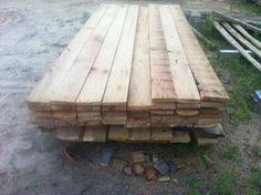 Picture Of Rough Sawn Cedar Lumber 1