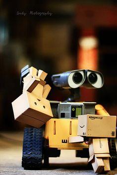Wall-E please put Danbo down.