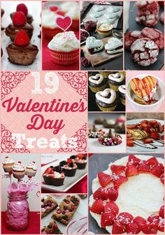 19 Valentines Day Recipes for Homemade Sweet Treats
