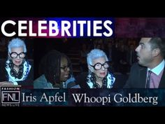 What project is Whoopi Goldberg & Iris Apfel working The View? #IrisApfel #Fashion #NYFW #WhoopiGoldber #FNLFW #TheView #share