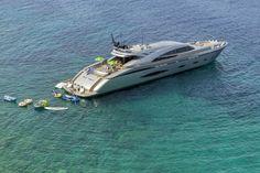 Sleek and stylish this 140ft luxury motor yacht 'My Toy'