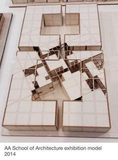 Aa school of architecture exhibition model 2014 çin mimarisi, peyzaj mimari Architecture Design, Architecture Drawings, Concept Architecture, School Architecture, Chinese Architecture, Habitat Collectif, Exhibition Models, 3d Modelle, Arch Model
