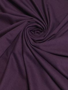 e14dfefcb3d Plum Cotton Spandex French Terry Dark Purple Violet French Terry Fabric  http://i