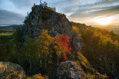 Синие скалы. Южный Урал