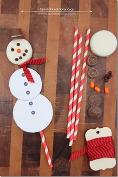 Sweet treat idea for the kids: frosty the snow-pop!