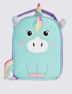 This sweet lunch bag is a day-to-day essential. | Unicorn | Pinterest | Bags, Boxes and Unicorns