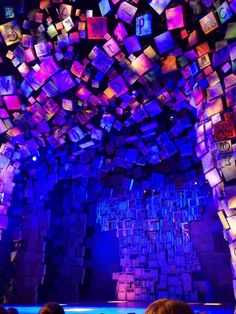 """The stage for """"Matilda the Musical"""" ~ Desperately want to see this show!"""