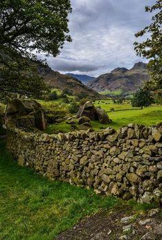 Langdale valley, Lake District, England, so beautiful