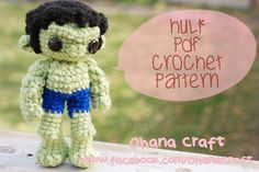 Hulk Ohana Craft by Ohana Craft, via Flickr