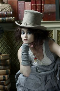 Helena Bonham Carter. I knew she was as mad as a hatter! ;D