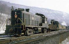 PRR wreck train. Lock Haven Pa. B.Volkmer photo
