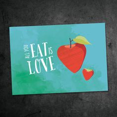 All you eat is Love A new Postcard with love from chatlab.de