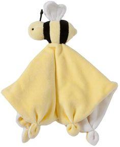 Burt's Bees Baby® Plush Bee Lovey Organic Cotton Blanket in Yellow Bumble Bee Nursery, Baby Bumble Bee, Baby Gift Sets, Baby Gifts, Bee Toys, Baby Security Blanket, Baby Lovey, Kawaii, Bee Theme