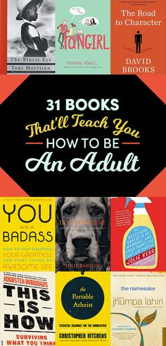 31 Amazing Books That Just May Help You Be An Adult