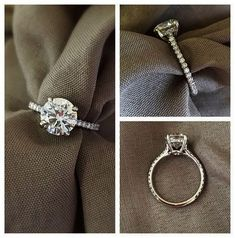 Incredible >> Simple Vintage Engagement Rings Rose Gold :-D