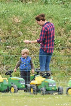 Kate Middleton and Prince George's Most Adorable Park Date Yet!