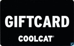 Cadeaukaart Coolcat