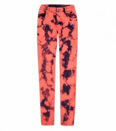 @Who What Wear - Cheap Monday                 Tight Jeans ($105, available Mid April) in Bonjour Red