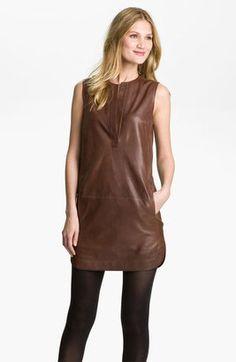 ShopStyle: Vince Leather Dress