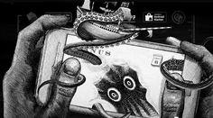 Kraken Rum Illustrated Animations...